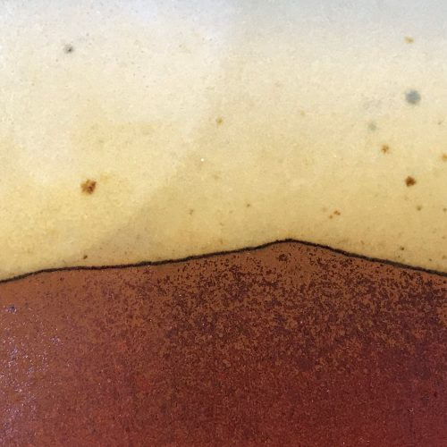 "Jeff Chang Earth Tones Stoneware Plate 9.5""x9.5"" (representative)"