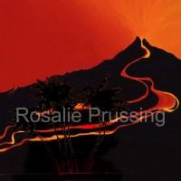 Rosalie Prussing Lava Lake Hawaii