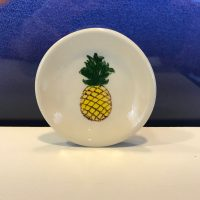 "Lorna Newlin Pineapple Dish 3"" Diameter (representative)"