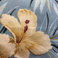 Maui Potpourri Retro Bark Cloth #G