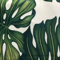 'Monstera' Maui Potpourri Retro Bark Cloth (representative)