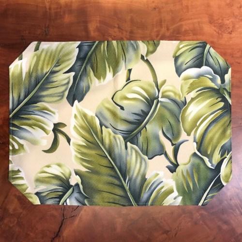 "Maui Potpourri Reversible Bark Cloth Placemat 16.5""x12.25"" (representative)"