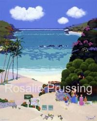 Rosalie Prussing Picnic at Hanauma Bay