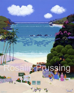 Rosalie Prussing Picnic at Hanauma Bay