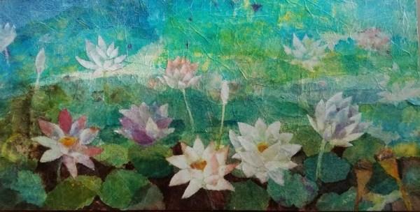 Hiroko Shoultz 'Lotus' Print