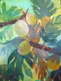 Hiroko Shoultz 'Breadfruit' Print
