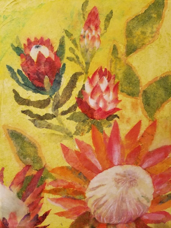 Hiroko Shoultz 'Protea' Print