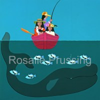 Humu Humu Rosalie Prussing Giclée Print, custom sizes