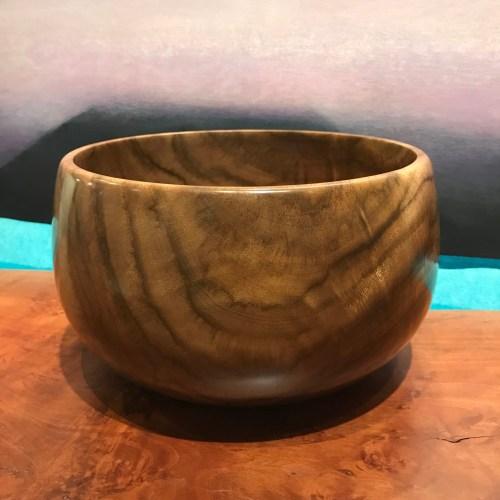 "Kou Bowl by Albert Koorenhof 5.75""H x 9.5""D $525"