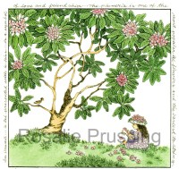 Plumeria Lei Rosalie Prussing Giclée Print, custom sizes