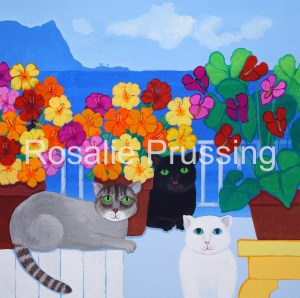 Purfect Pacific Rosalie Prussing Giclée Print, custom sizes