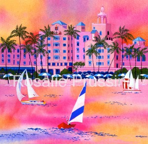 Royal Sunset Rosalie Prussing Giclée Print, custom sizes