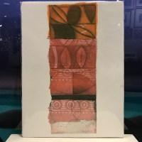 "'Breath of Spring' Original Monoprint by Linda Spadaro 15""x 11"" matted $60"