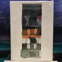 "'Shaper' Original Monoprint by Linda Spadaro 15""x 11"" matted $30"