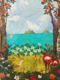 'Lanikai Sailboat' by Hiroko Shoultz Print, custom sizes