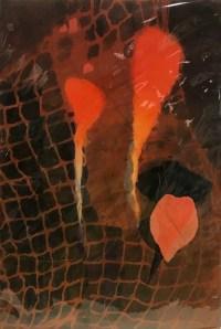 "'Rising' Original Monoprint by Anne Irons 22""x 15"" $400"