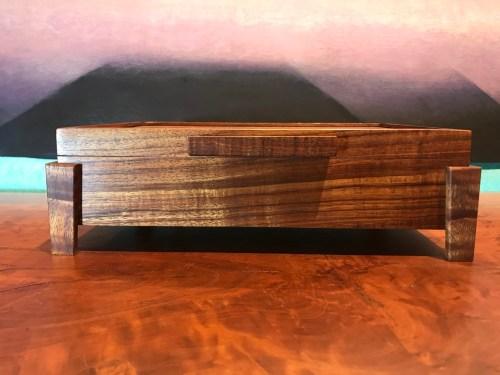 "Small Koa Footed Box 11""x 8""x 3.25"" (representative) by Honolulu Woodworking Designs $315"