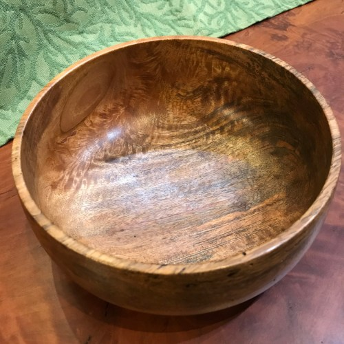 """Mango Bowl by Andy Cole 3""""x 7"""" $240"""