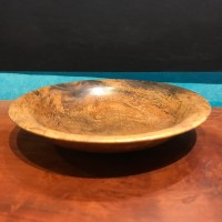 "Mango Bowl by Andy Cole 1""H x 6""D $150"