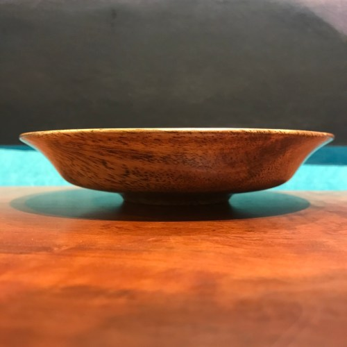 """Mango Bowl by Andy Cole 1""""H x 6""""D $140"""