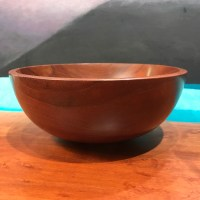 "Myrtle Bowl by Tom Young 2.5""H x 6.25""D $140"