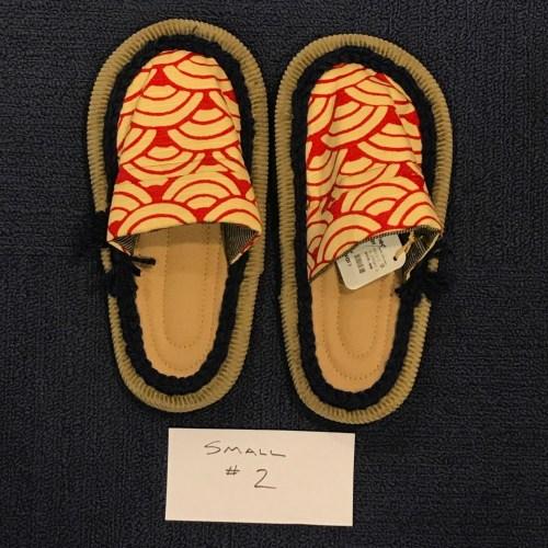 Ione Kanetake Handmade Slippers from Hilo Hawaii; Outside length 9.5 ; toe-to-heel 8 #2 $69