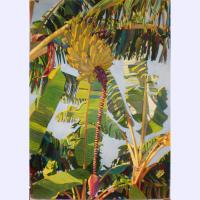 'Yellow Bananas' watercolor by Fabienne Blanc, Giclée Print, custom sizes