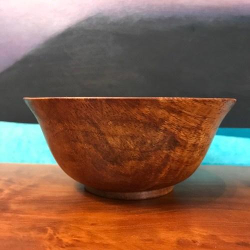 """Koa Bowl 2.5""""H x 5.5""""D by Gordon Tang $230"""