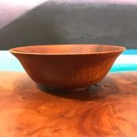 """Koa Bowl 2""""H x 6""""D by Gordon Tang $230"""