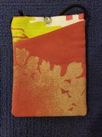 """Repurposed Kimono Pouch 7""""x 5"""" (E) $39.50"""