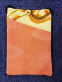 """Repurposed Kimono Pouch 7""""x 5"""" (I) $39.50"""