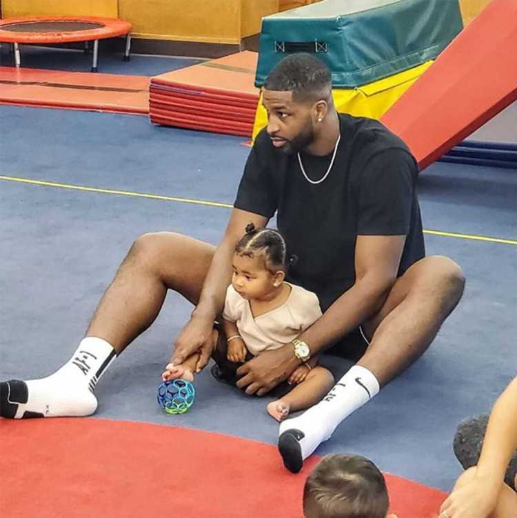Tristan Thompson Shares Sweet Photo with Daughter True at ...