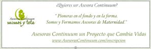 asesoras Continuum banner