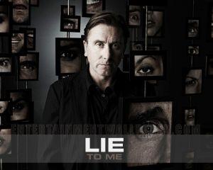 """Cartel de la serie """"Lie to me"""""""