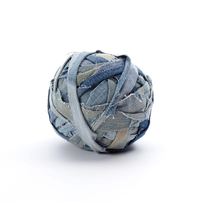 Denim Ball Blue No 4