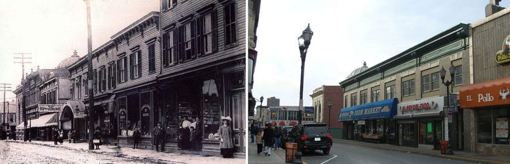 Bergenline Avenue Then and Now