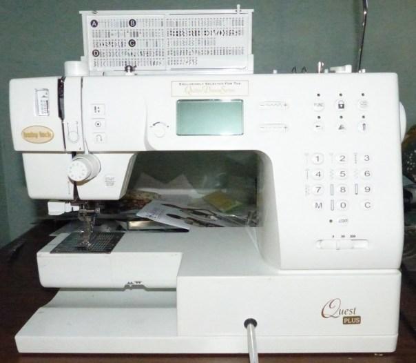 Babylock Quest, my 'old' machine