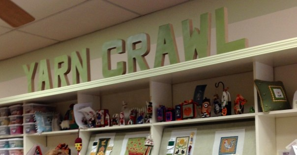 yarn crawl sign