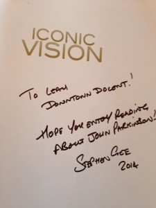 Autographed Iconic Vision