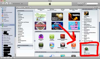 Tutorial iTunes ohne Kreditkarte 2
