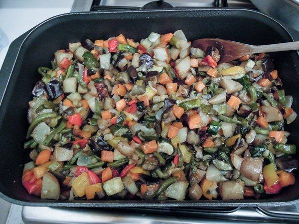 Torta Salata alle Verdure-1