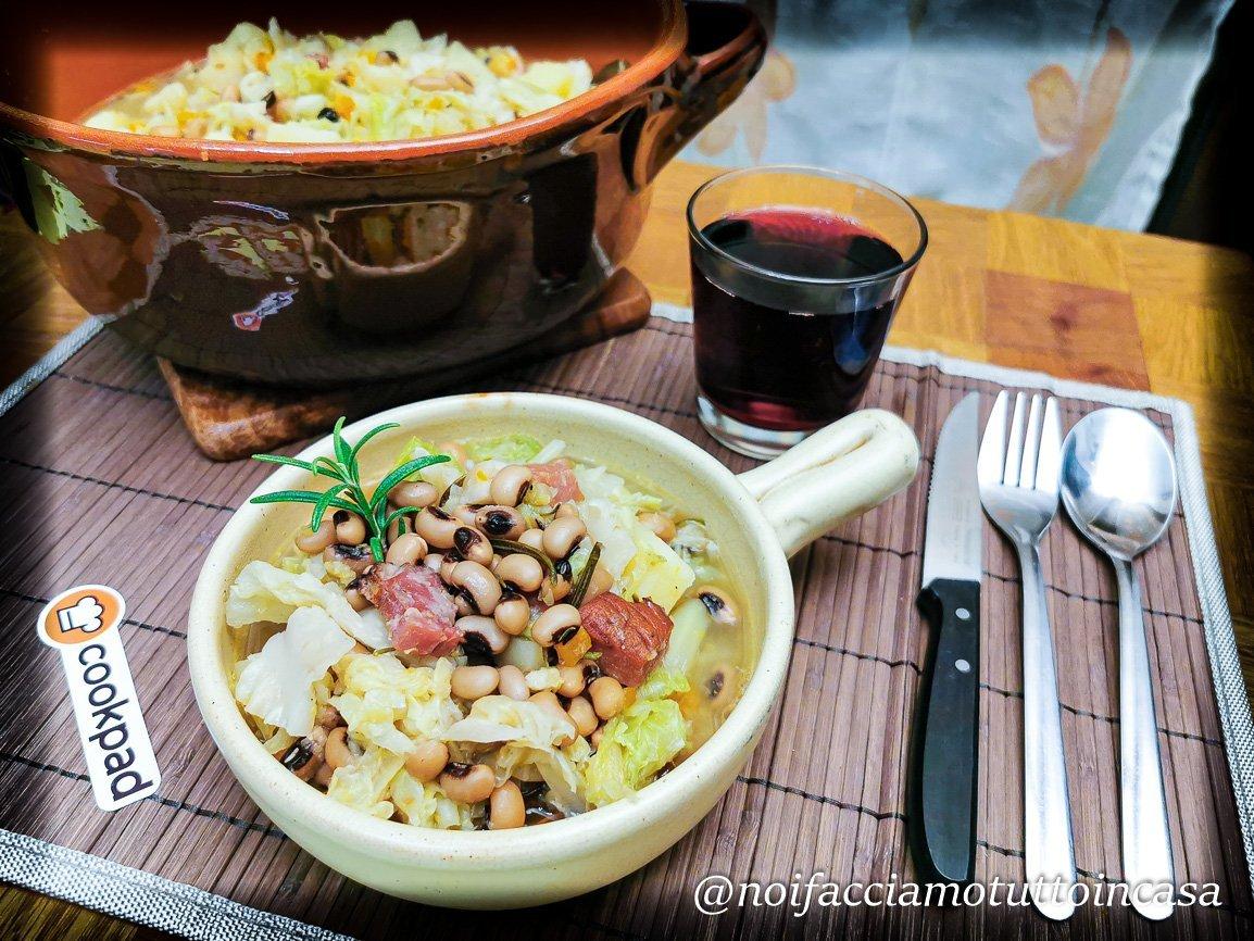 zuppa-di-verze-e-fagioli-nel-coccio
