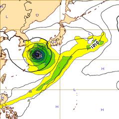 西欧台風11号