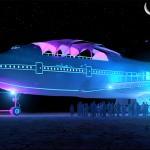 今年のバーニングマンにはボーイング747が出現!!