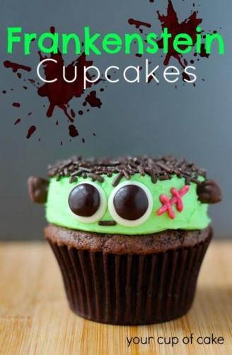frankenstein-cupcake