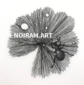Logo Noiram.art mlam poncet noiram