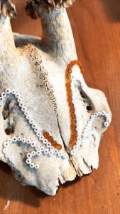 mlam noiram crâne perles folie bergère