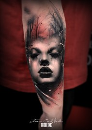 done by Thomas Carli Jarlier at Noire Ink Tattoo Parlour