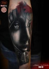 done by Thomas Carli Jarlier at the Milano tattoo Convention 2016