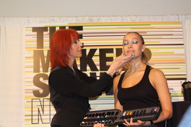 the makeup show nyc mufe dany sanz 2